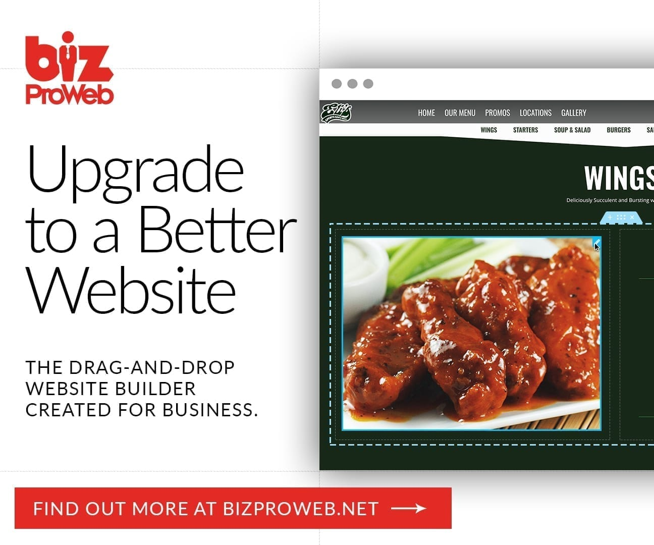 Websites Built for Business - bizProWeb - Advanced Website Builder