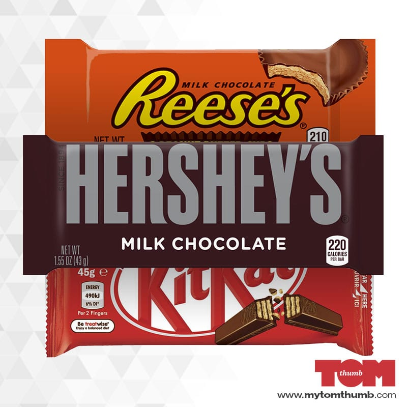 Hershey's Regular-Size Candy Bars