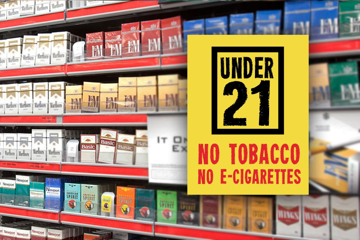 As of December 26, 2019, you must be 21 Years of Age to Purchase Tobacco Products and E-Cigarettes - Tom Thumb Food Stores Miami