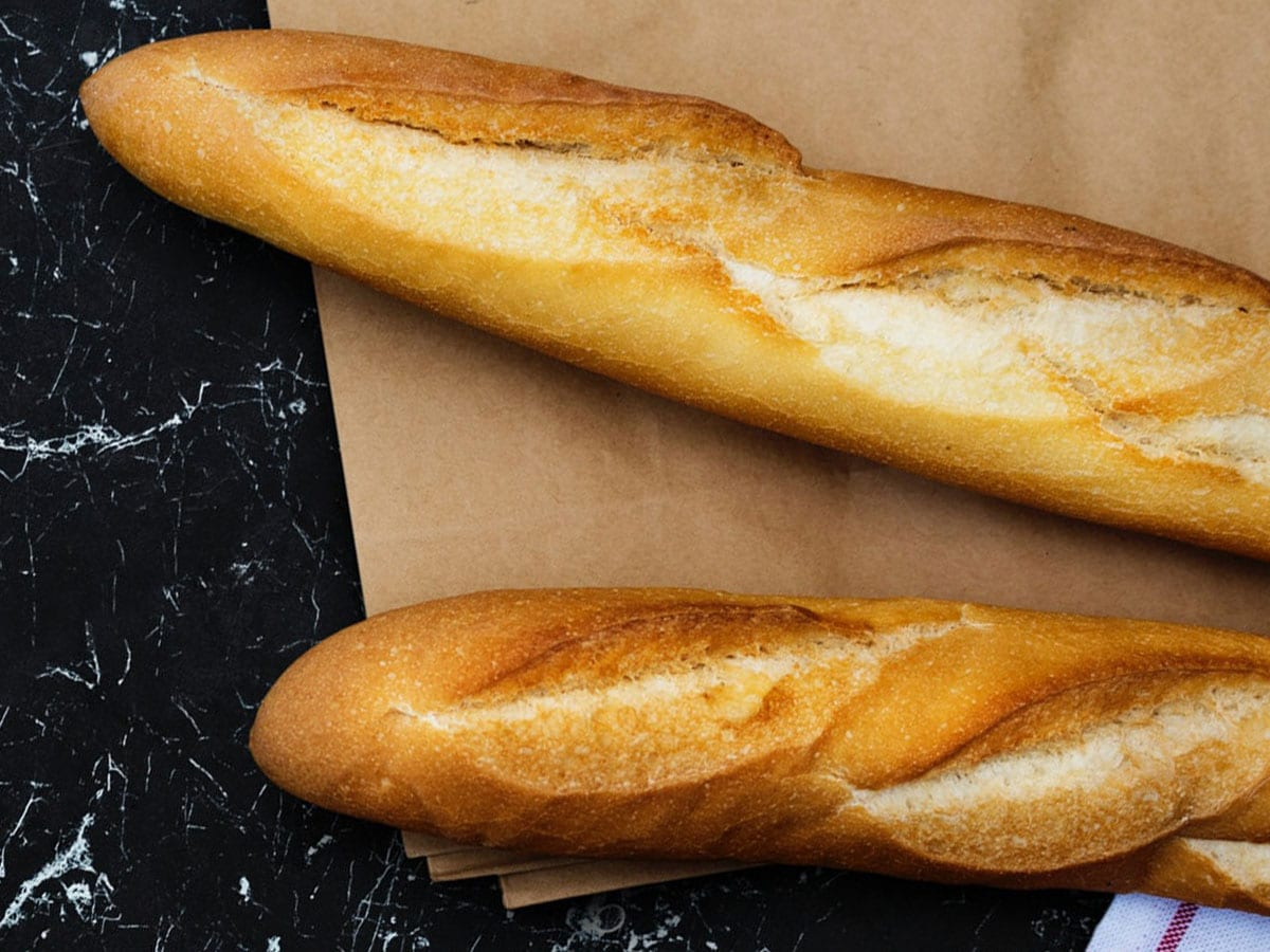 Parisienne Baguette Bread at the the Café at Tom Thumb Food Stores