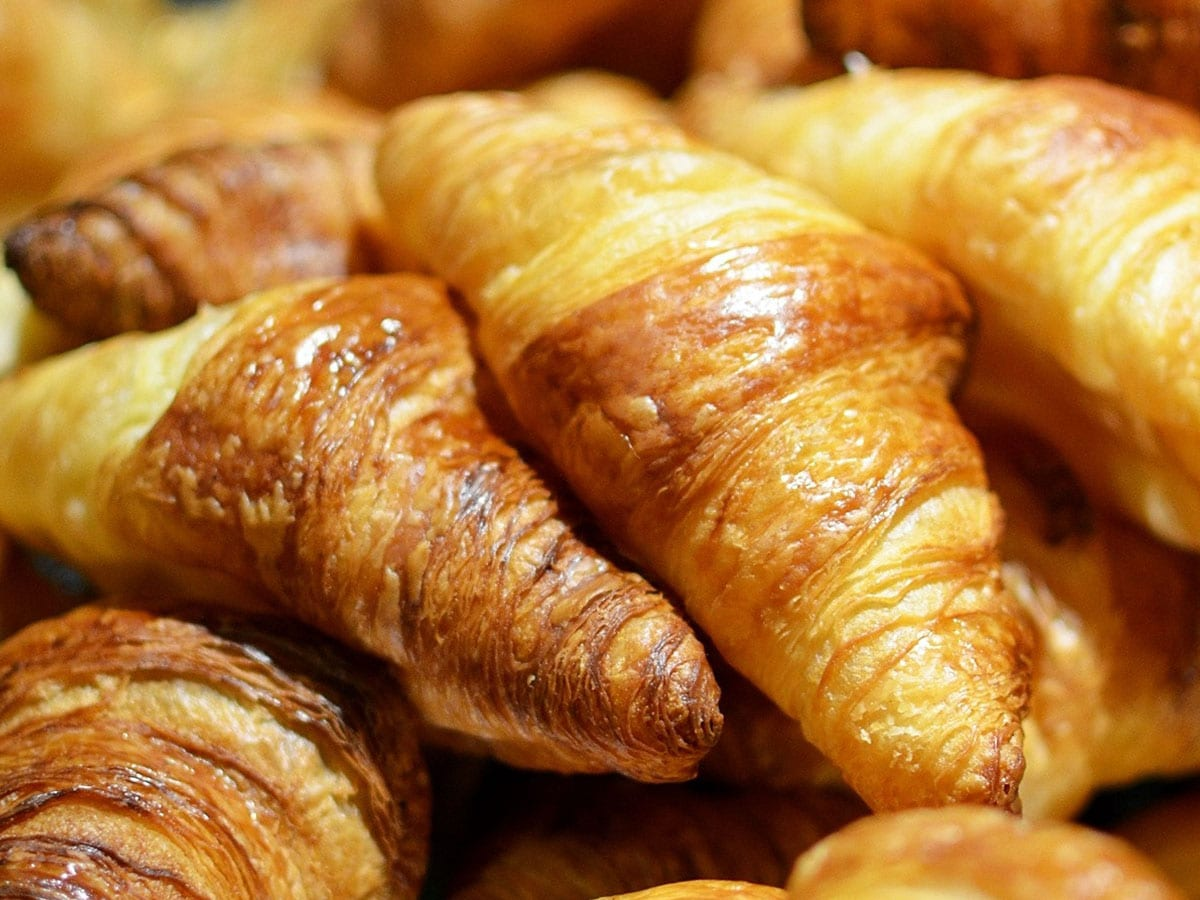 Fresh Croissant at the the Café at Tom Thumb Food Stores