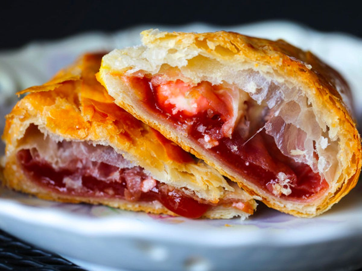 Guava and Cheese Pastry at the the Café at Tom Thumb Food Stores