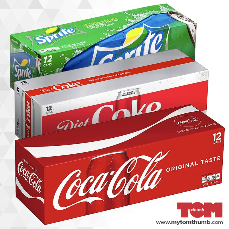 Coca-Cola 12 packs