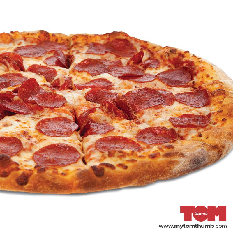 16″ Large Pizza – Cheese & Pepperoni