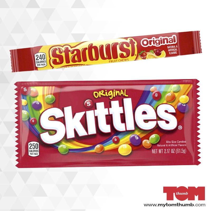 Skittles & Starburst