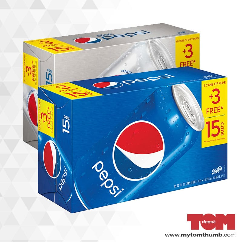 Pepsi (15 Pack Cans)