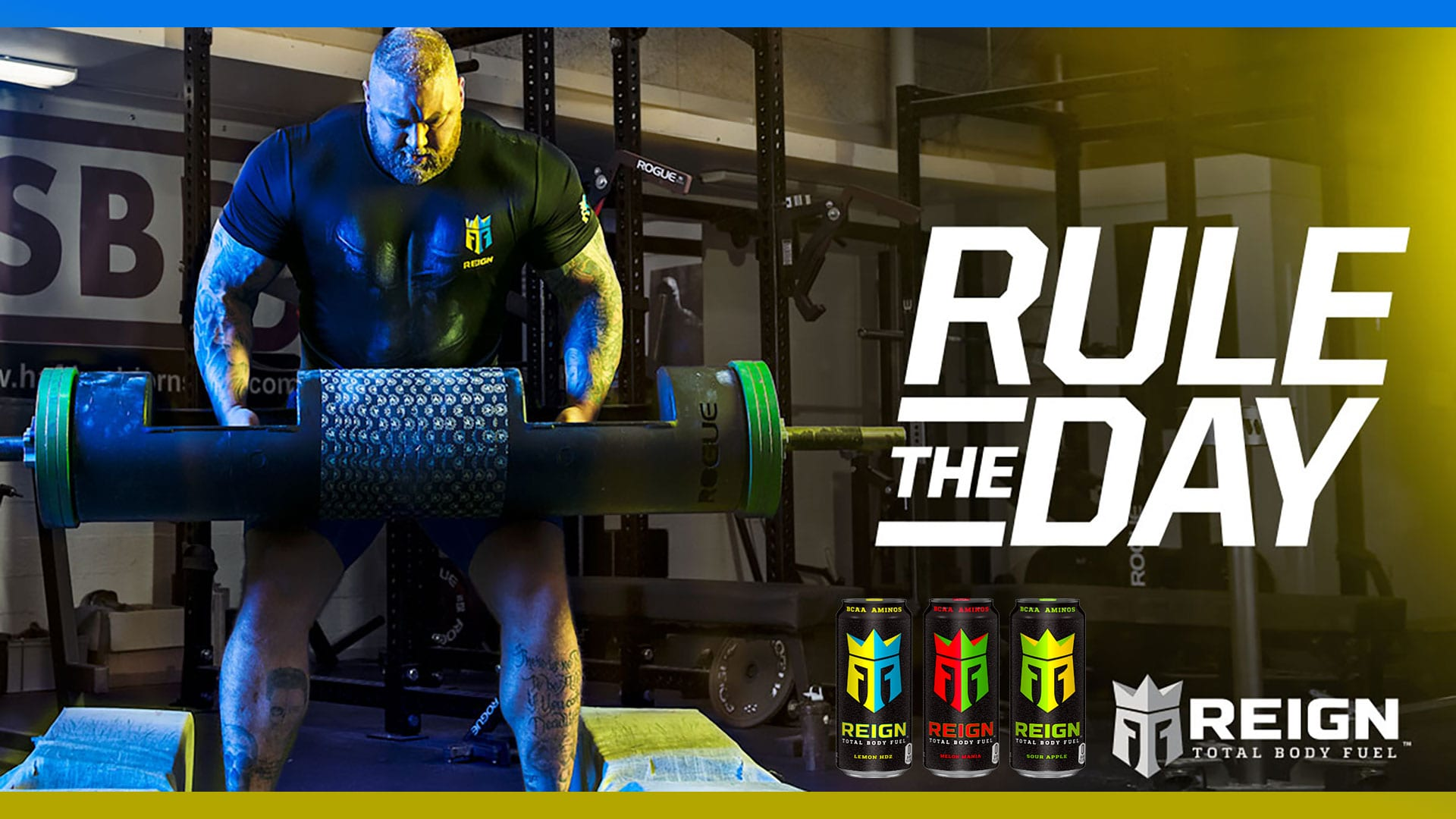 Try New Reign Total Body Fuel by Monster Energy